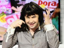 Igor Kwiatkowski przeistacza się w Mariolkę (fot.Agencja Forum)
