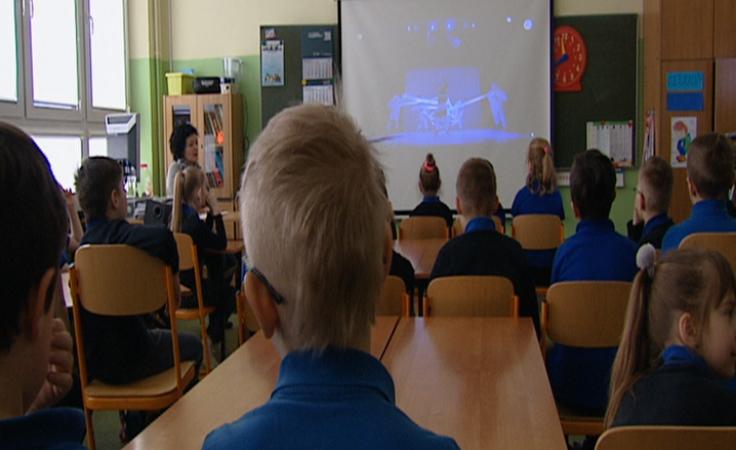 Internetowy Teatr TVP zaprezentował uczniom kolejny spektakl