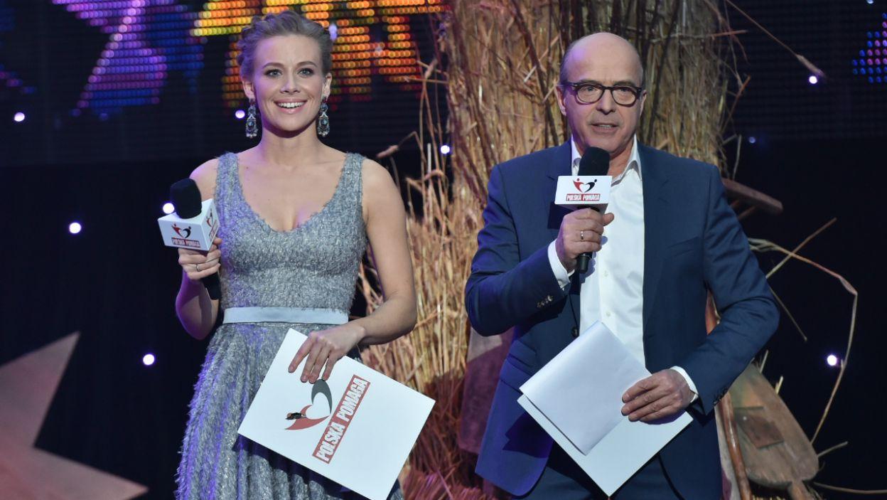 Koncert poprowadzili: Aleksandra Rosiak i Jan Pospieszalski (fot. I. Sobieszczuk/TVP)