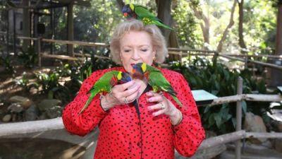 Rodzinne oglądanie - Betty White wśród dzikich zwierząt