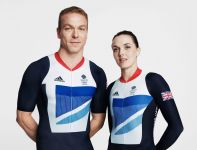 Sir Chris Hoy i Victoria Pendleton (fot. Getty Images)