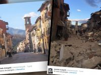 Ludzie umierali we własnych domach. Zobacz skalę zniszczeń we Włoszech