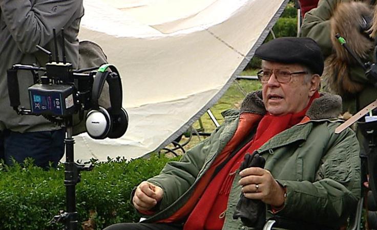 """W Sieniawie  trwają zdjęcia do filmu """"Eter"""" Krzysztofa Zanussiego"""