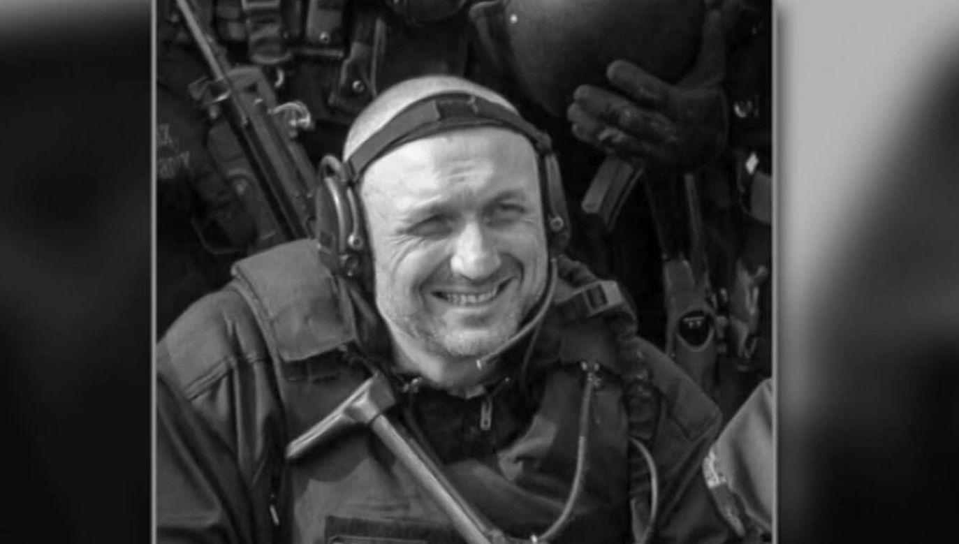 W sobotę odbędzie się pogrzeb policjanta zastrzelonego podczas interwencji w Wiszni Małej (fot.TVP info)
