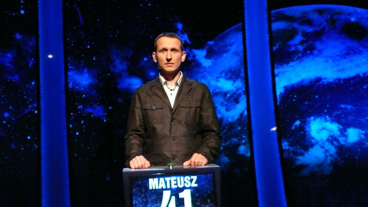 Mateusz Cieślicki - zwycięzca 12 odcinka 99 edycji