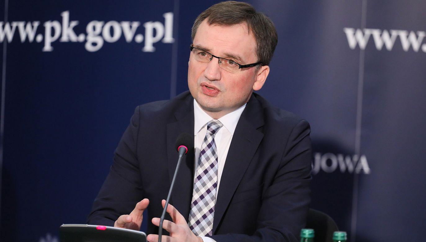 Zbigniew Ziobro (fot. PAP/Paweł Supernak)