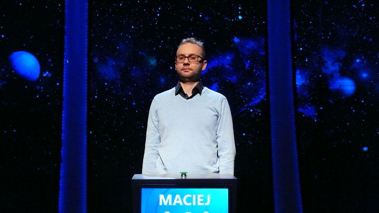 Maciej Gliński - zwycięzca 11 odcinka 103 edycji