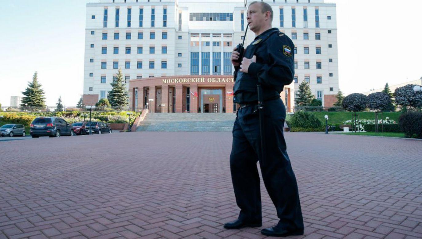 Zatrzymany przez policję 37-latek ma zostać deportowany z Rosji (fot. Yuri Falyan/Anadolu Agency/Getty Images)