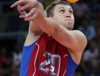 Alieksiej Obmoczajew, libero reprezentacji Rosji (fot. Getty Images)