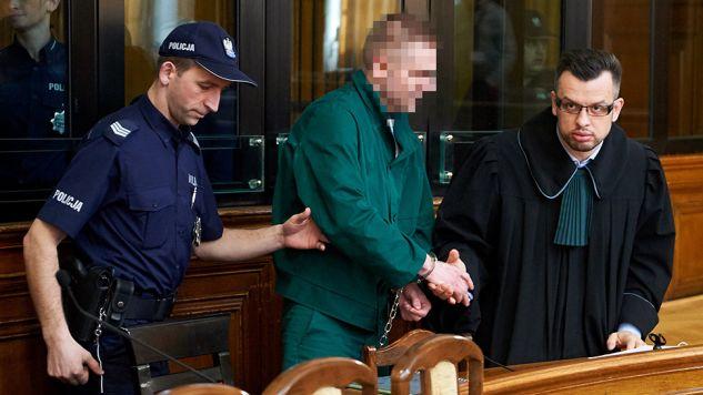 Marcin P. zostanie przetransportowany z aresztu w Gdańsku do SO w Warszawie przez Służbę Więzienną (fot. arch.PAP/Adam Warżawa)