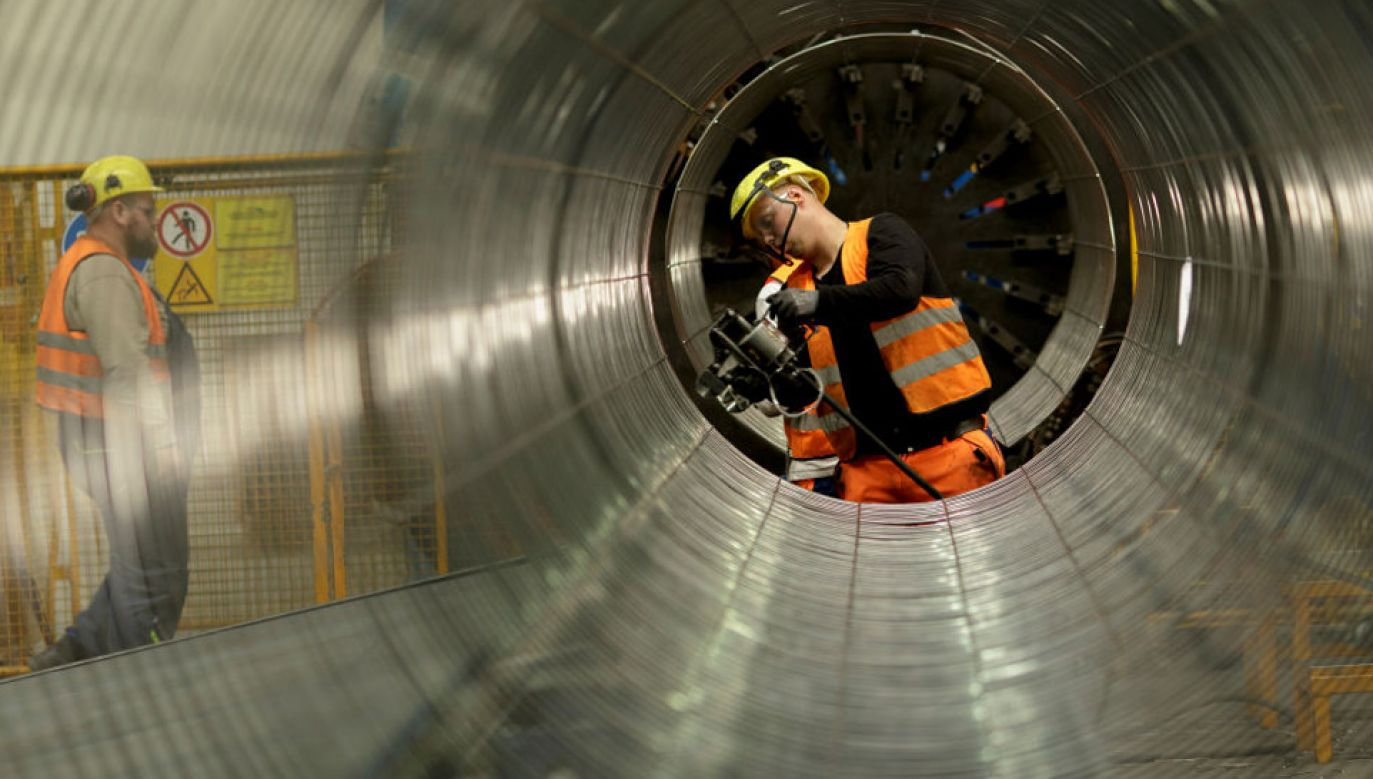 Nord Stream 2 ma przekazywać gaz z Rosji do Niemiec z pominięciem m.in. Polski (fot. Carsten Koall/Getty Images)