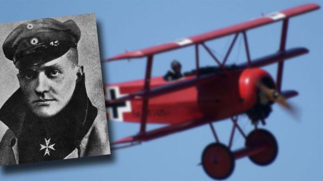 Manfred von Richthofen był najwybitniejszym pilotem I wojny światowej (fot. Hulton Archive/Getty Images/Wiki/Valder137)