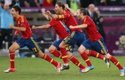 Radość Hiszpanów (fot. Getty Images)