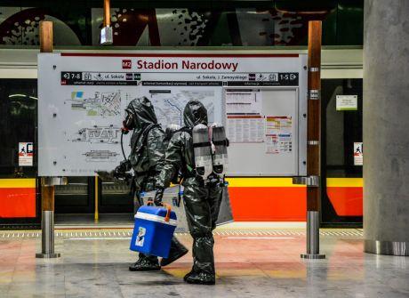 Patrol-15 - ćwiczenia w metrze
