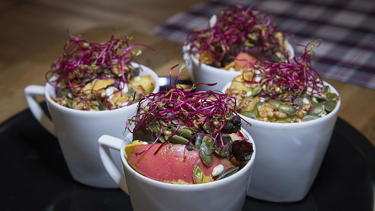 Tradycyjnym smakom można jednak nadać bardziej nowoczesne formy (fot. Natasza Młudzik/TVP)