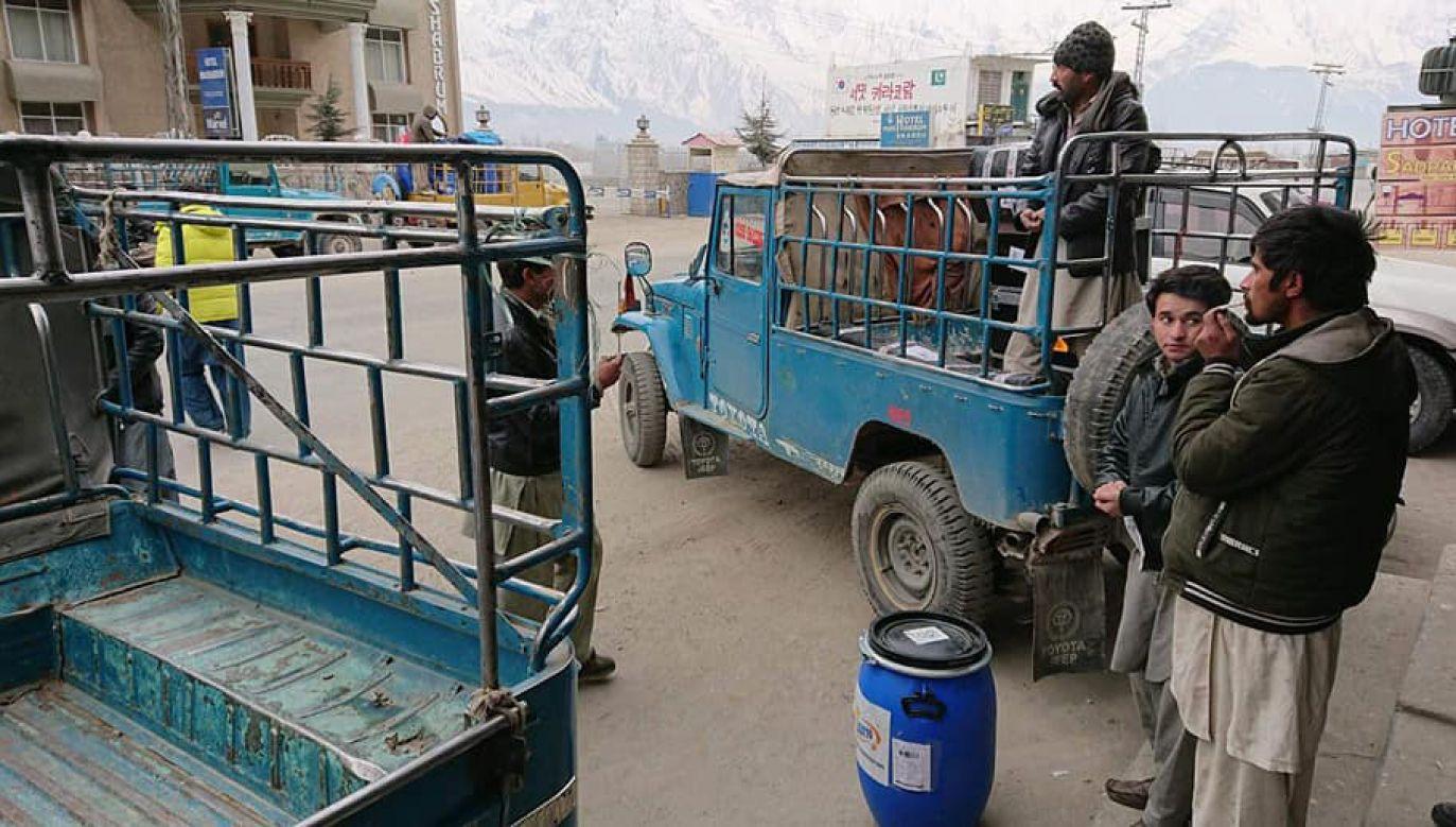 Przygotowania do wyprawy. Zdjęcie z początku stycznia (fot. facebook/Polski Himalaizm Zimowy)