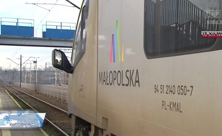Problemy na kolejowej trasie do Krakowa