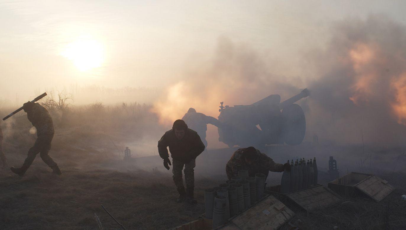 """""""Odłączenie gazociągu ukraińskiego daje Rosji możliwość dalszego podboju Ukrainy"""" (fot. REUTERS/Maksim Levin)"""
