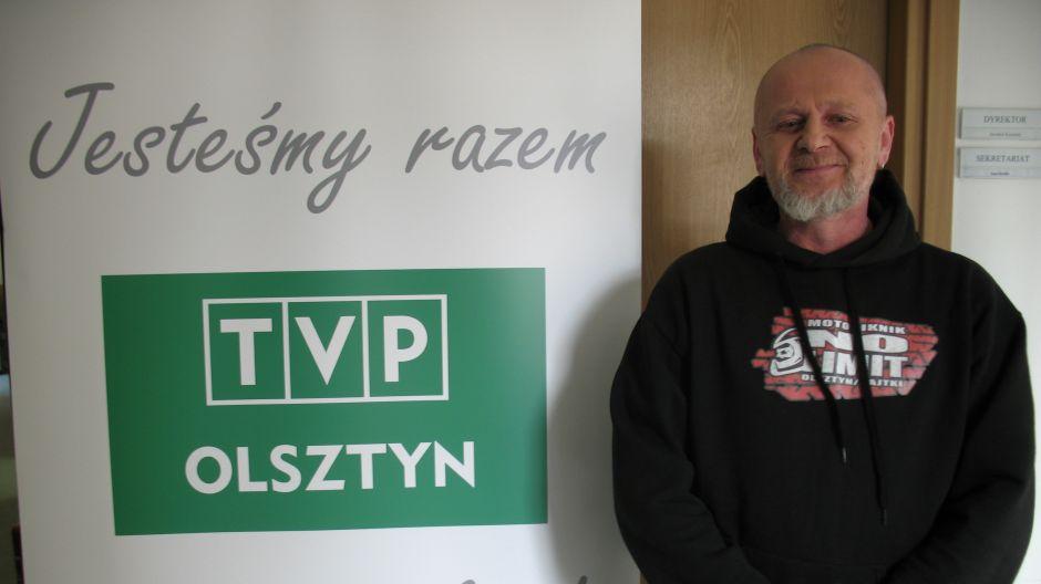 Leszek Malgrem, klub motocyklowy Biker Olsztyn.