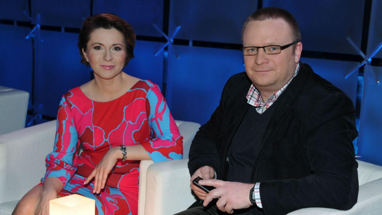 Silny duet Marty Kielczyk i Łukasza Warzechy ciągle plasował się w czołówce zmagań (fot. TVP/K.Kurek)