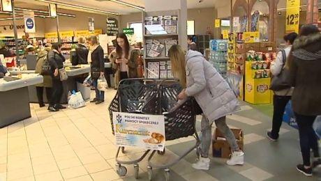 Wielkanocna zbiórka dobroczynna w olsztyńskich sklepach