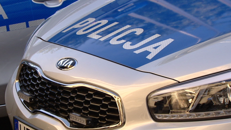 Policja apeluje do świadków zdarzenia o kontakt pod numery telefonów 997 i 112 (fot. TVP3 Kraków)