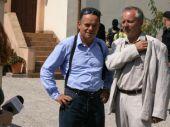 Współpraca byłego policjanta i detektywa-celebryty szybko przestaje się układać (fot. TVP)
