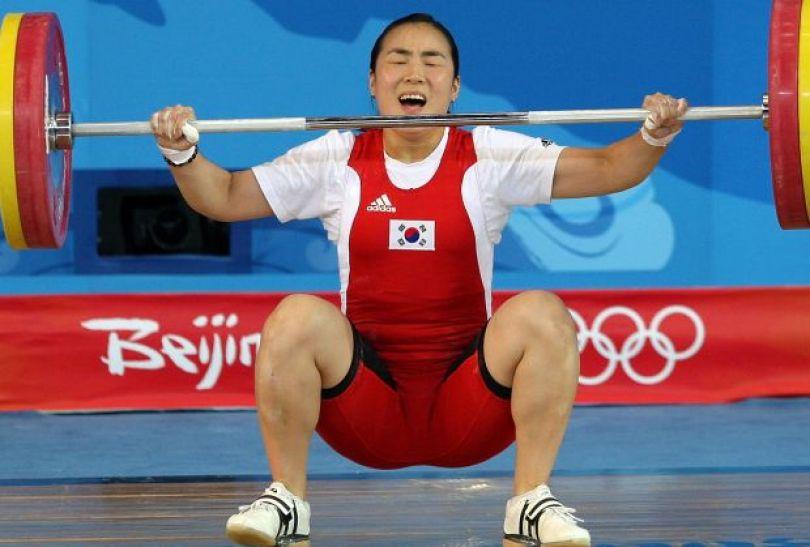 Pak Hyon-suk – mistrzyni w kategorii 63 kg (fot. Getty Images)
