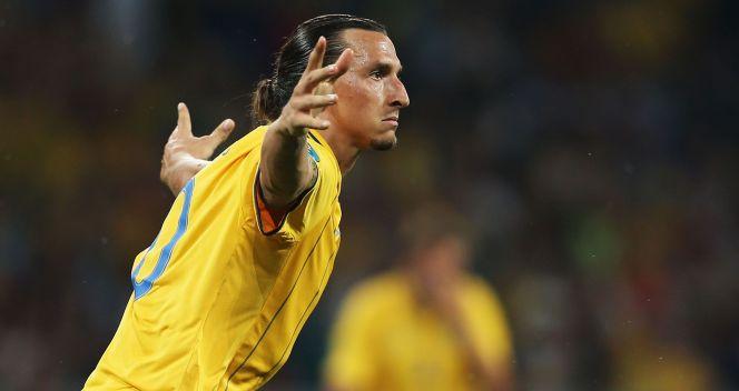 Zlatan Ibrahimović strzelił podczas Euro 2012 dwa gole (fot. Getty)