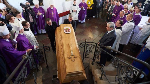 Uroczystości pogrzebowe w bazylice archikatedralnej w Gdańsku-Oliwie (fot. PAP/Adam Warżawa)
