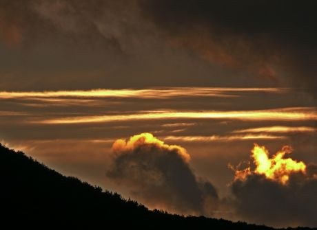 Chmury bieszczadzkie