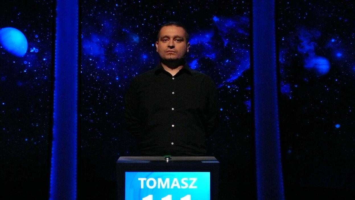 Zwycięzcą 7 odcinka 107  został Pan Tomasz Mojka