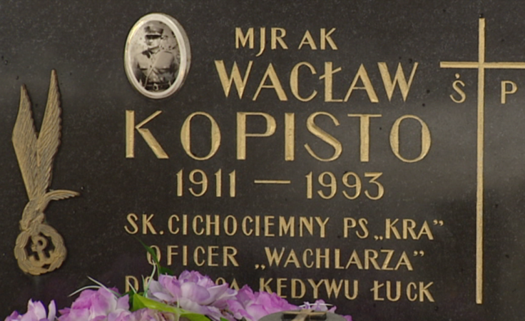 25. rocznica śmierci mjra Wacława Kopisto
