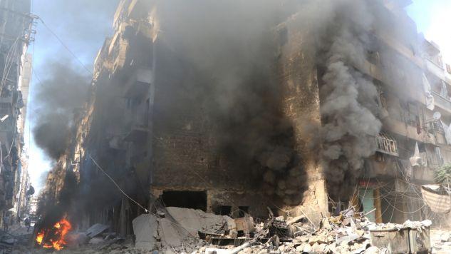 Dramat humanitarny w Aleppo trwa(fot. Ibrahim Ebu Leys/Anadolu Agency/Getty Images)