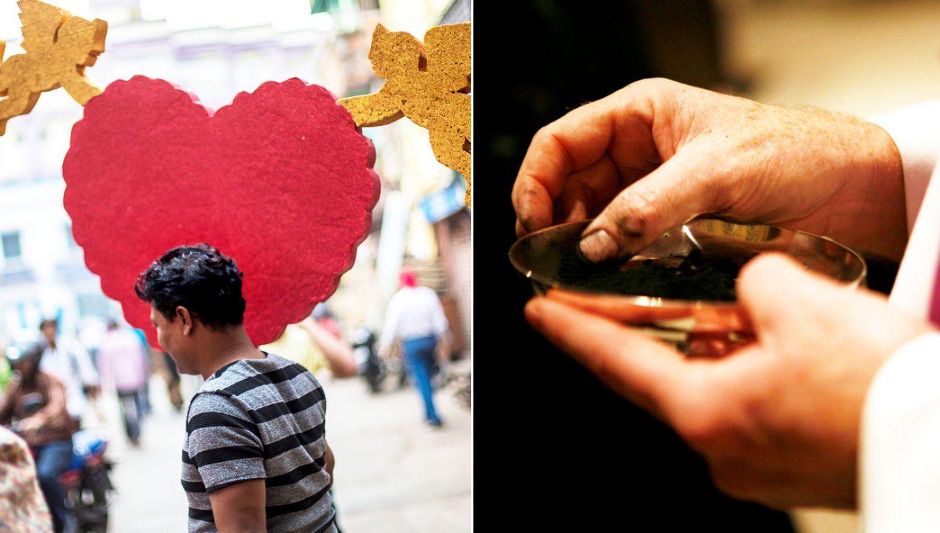 Kościół nie jest przeciwny świętowaniu walentynek, ale tegoroczna zbieżność dat jest niefortunna. (fot. PAP/ EPA/PIYAL ADHIKARY/REUTERS/Eric Thayer)