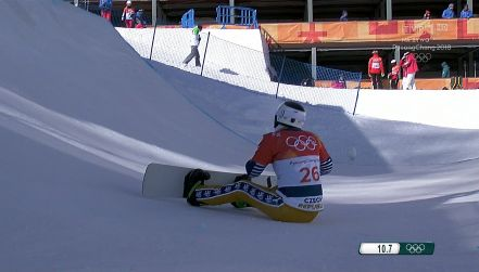 Kuriozalna sytuacja w snowcrossie. Vendula Hopjakova zaczęła przejazd i...
