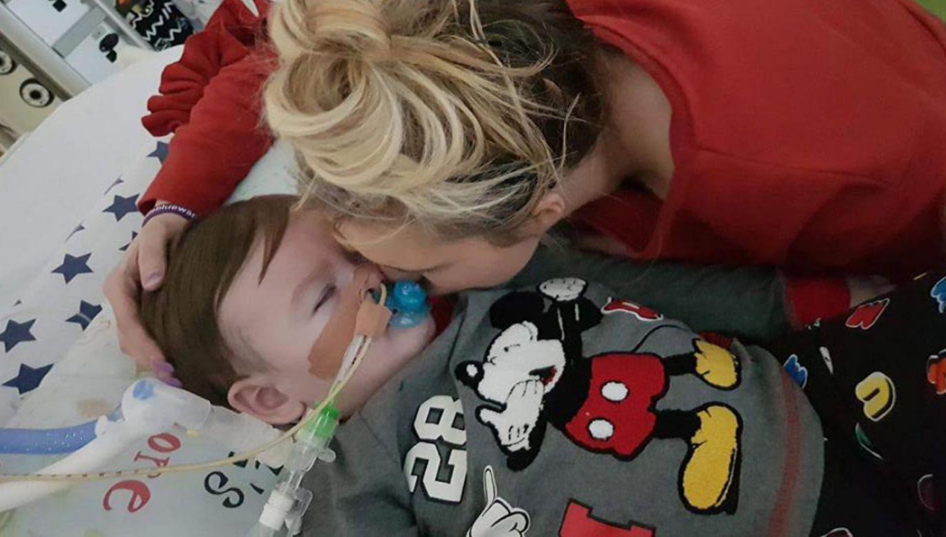 Dr Izabela Pałgan w styczniu zbadała dwulatka na prośbę jego rodziców (fot. fb/Christina Byrne/Alfies Army Official)