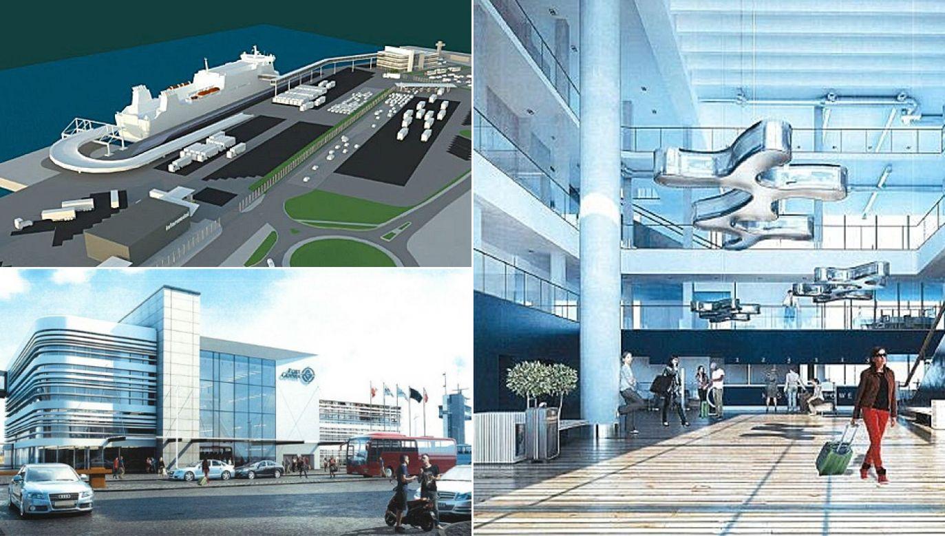 Port ma być gotowy w ciągu trzech lat (wizualizacja KPMG)