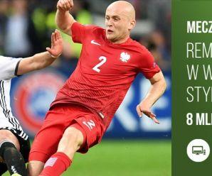 Ponad 8 milionów widzów meczu Polska - Niemcy w TVP!