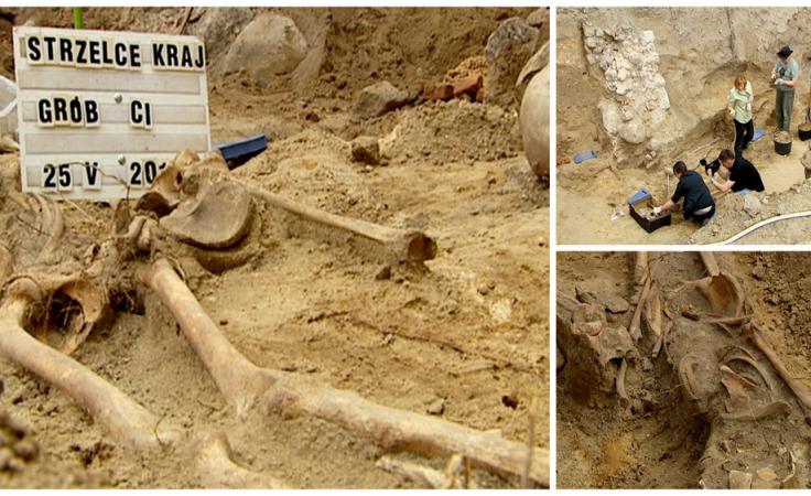 Wykopano kolejne szczątki średniowiecznych mieszkańców