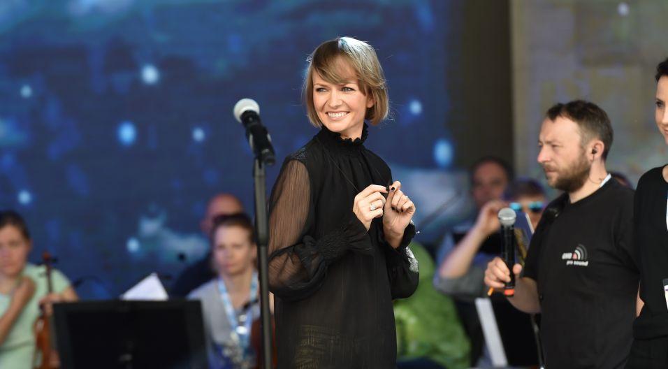 Kasia Stankiewicz jest zawsze uśmiechnięta dla... (fot. I. Sobieszczuk/TVP)