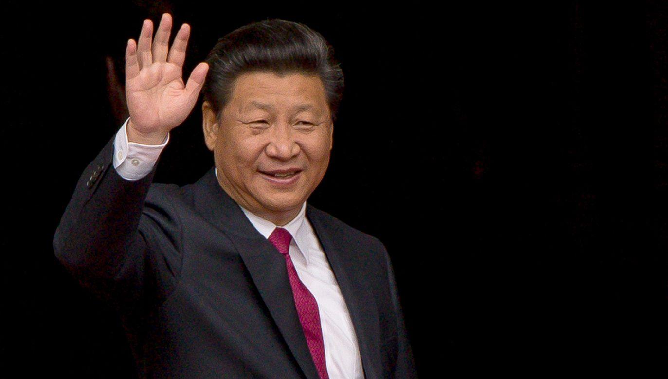 Prezydenta Chin Xi Jinping (fot. Richard Stonehouse/Getty Images)