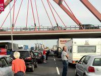 Pożar samochodu osobowego na A4. Wielkie korki na autostradzie w kierunku Wrocławia