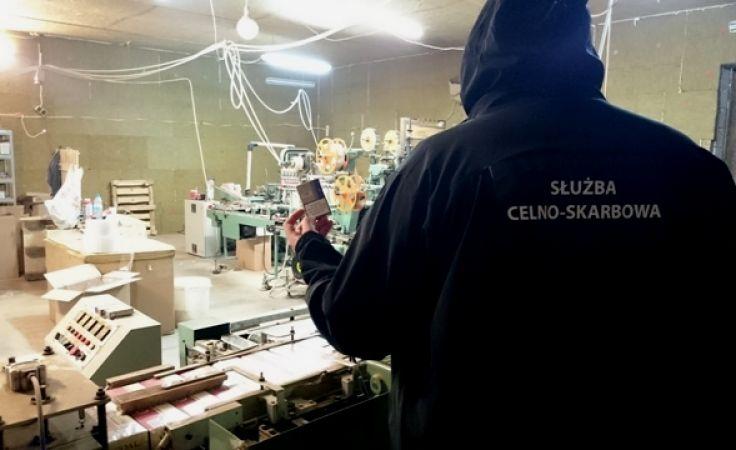 Fabryka działała na terenie powiatu otwockiego (fot. Izba Skarbowa w Olsztynie)