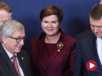 Premier Beata Szydło po szczycie Unia – Turcja: problem migrantów będziemy próbowali rozwiązać poza granicami UE