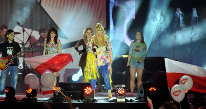 Maryla Rodowicz podczas koncertu (fot. TVP/Jan Bogacz)