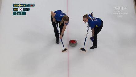 Curling: ostatnia akcja w finale. Szwedki ze złotem [wideo]