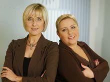 Agata Młynarska i Dorota Wellman