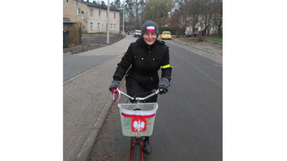 Alina Broda 11 uczestniczyła w Szubinskim Rajdzie Rowerowym