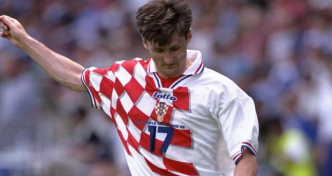 Robert Jarni zdobył bramkę w ćwierćfinałowym meczu z Niemcami (fot. Getty Images)
